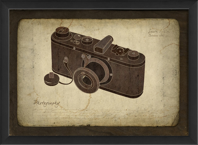 'Camera' Print contemporary-prints-and-posters
