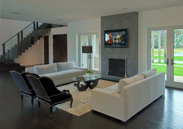 Living spaces contemporary-living-room