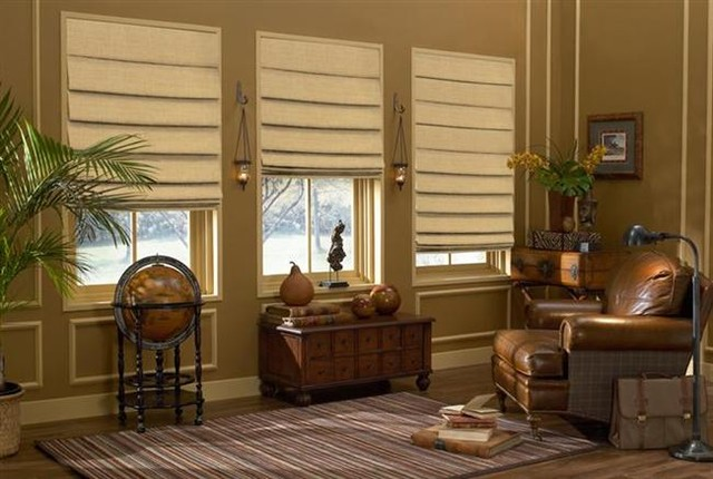Soft Roman Shades modern roman blinds