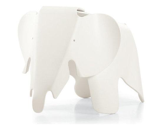 Eames Elephant, White -
