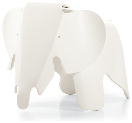 Eames Elephant, White modern-baby-and-kids