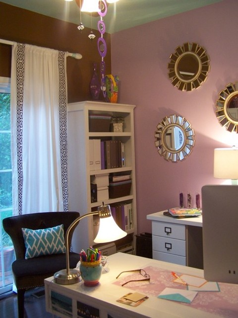 Home Office - Mom Cave contemporary-home-office