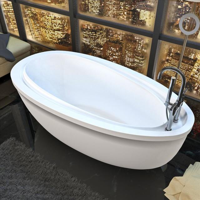 Atlantis Whirlpools 3871bba Air Jet Bathtub Traditional
