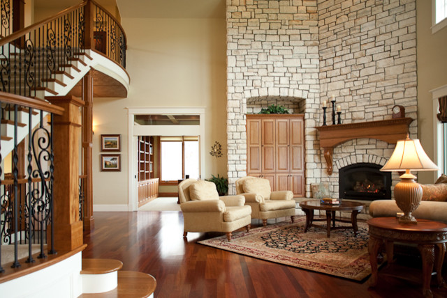 Peaceful Living Traditional Family Room Other Metro By Rentfrow Design Llc