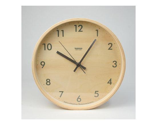 Plywood Wall Clock -