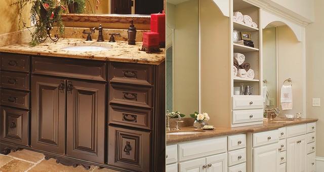 bathroom cabinet pictured left yorktown cherry ebony