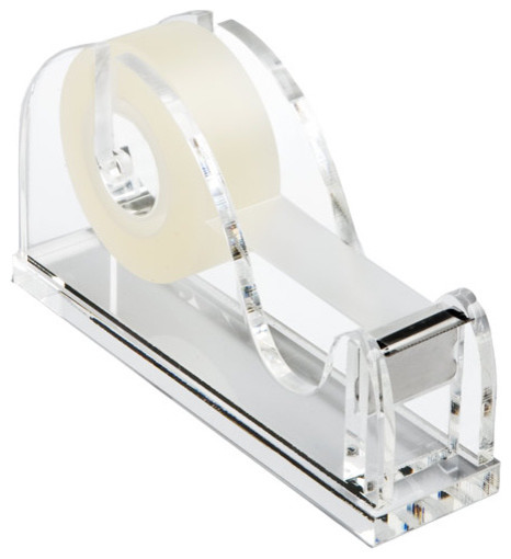 Acrylic Tape Dispenser modern-desk-accessories