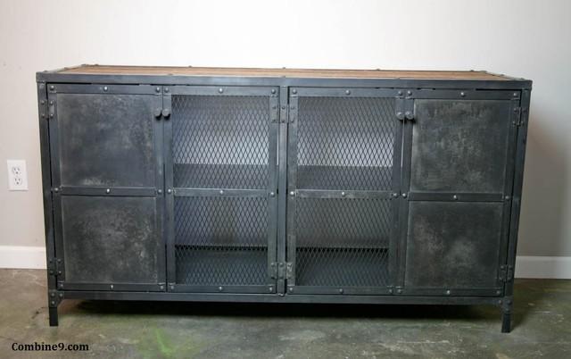 Liquor Cabinet/Bar. Steel/Reclaimed Wood. Urban, Modern, Vintage Industrial.