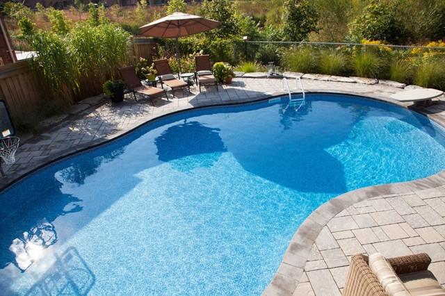 backyard blast transitional pool