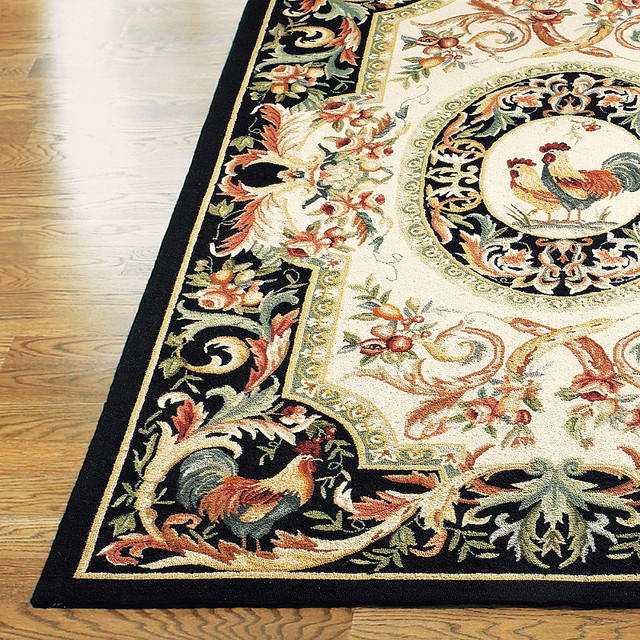 Rooster Ez Care Rug Traditional Rugs