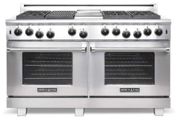 "American Range 60"" Heritage Classic Range, Stainless Steel 