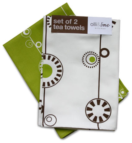 George Tea Towels contemporary-dish-towels