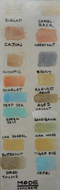 Concrete Stain Colors (for Concrete Floors and Tiles) modern-flooring