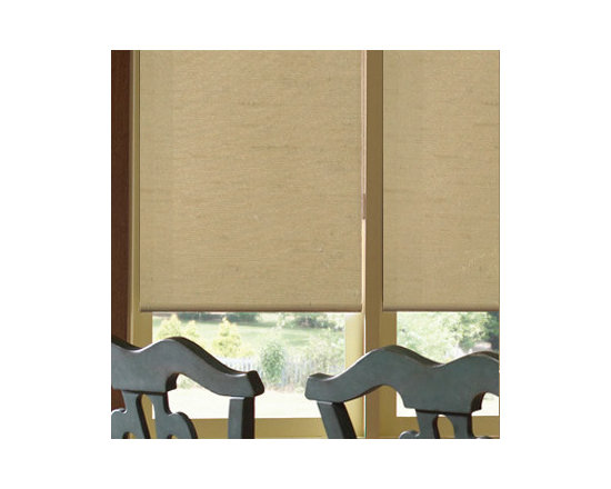 Comfortex - Comfortex Envision Roller Shades: Shantung - When it's fabric that matters, Envision Roller Shades are the window treatment that you want.  Shantung is a sheer fabric featuring the look of Dupioni silk with horizontal slubs and nubs.