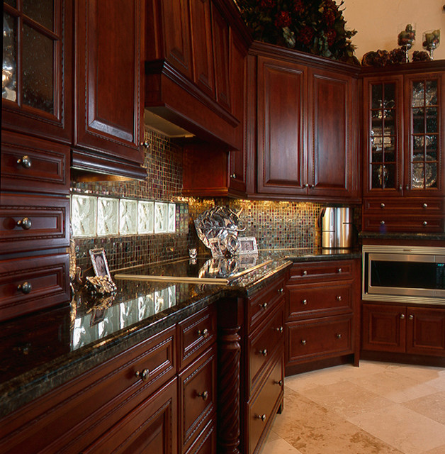 Cherry Wood Kitchen Units: Cherry Wood Kitchen Cabinets Photos