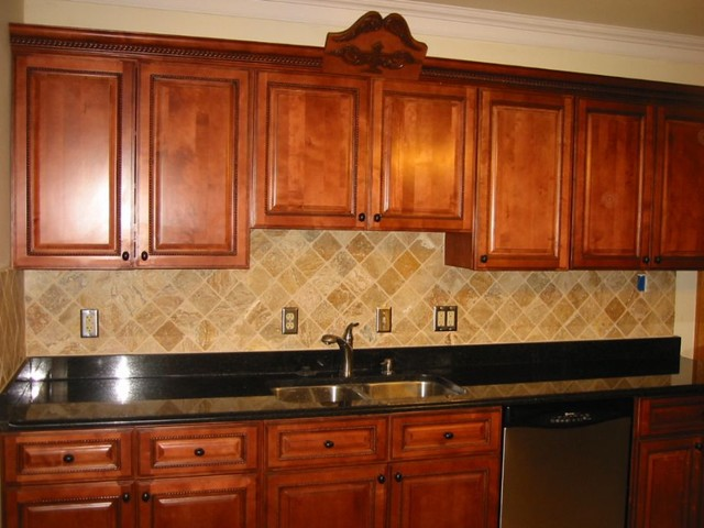 Brown Kitchen Cabinets Sienna Rope Door Style Kitchen Cabinet Kings