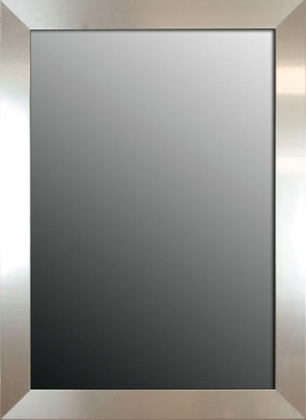 Brightly polished silver mirror modern wall mirrors