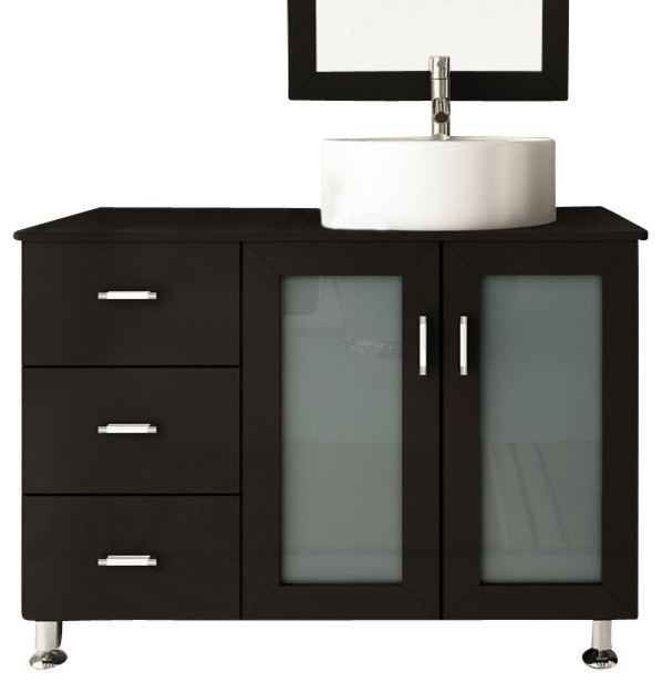 39 Lune Small Single Sink Modern Bathroom Vanity Modern Bathroom Va