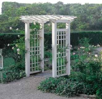 Garden Arbor traditional-gazebos