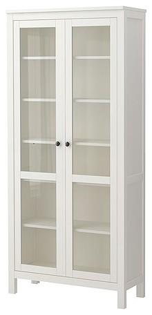 Hemnes Glass Door Cabinet modern-storage-cabinets