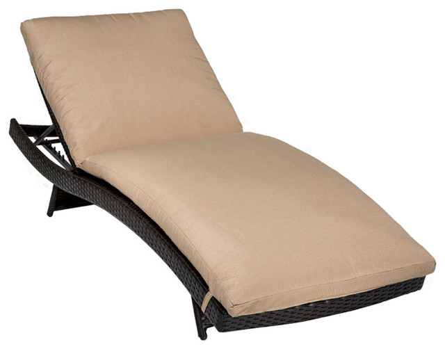 Tahiti chaise set of 2 outdoor wicker patio furniture for Camo chaise lounge