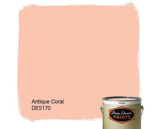 DunDunn-Edwards Paints Antique Coral DE5170 -