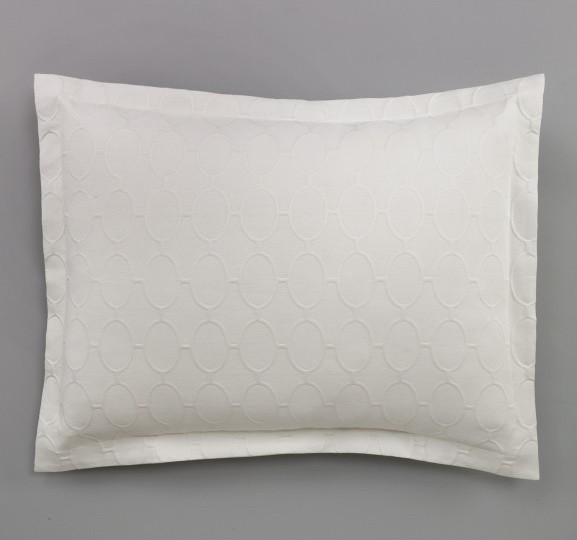 Dwellstudio Ellipse Matelasse Sham modern-home-decor