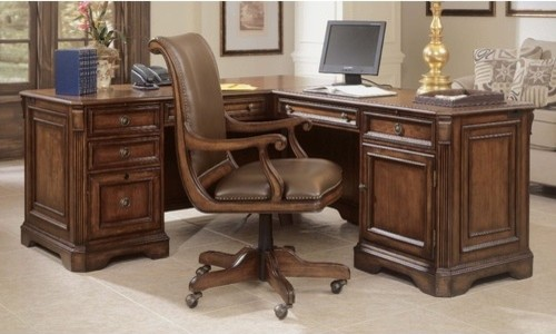 Brookhaven 69 Quot W Executive L Shape Desk With Right