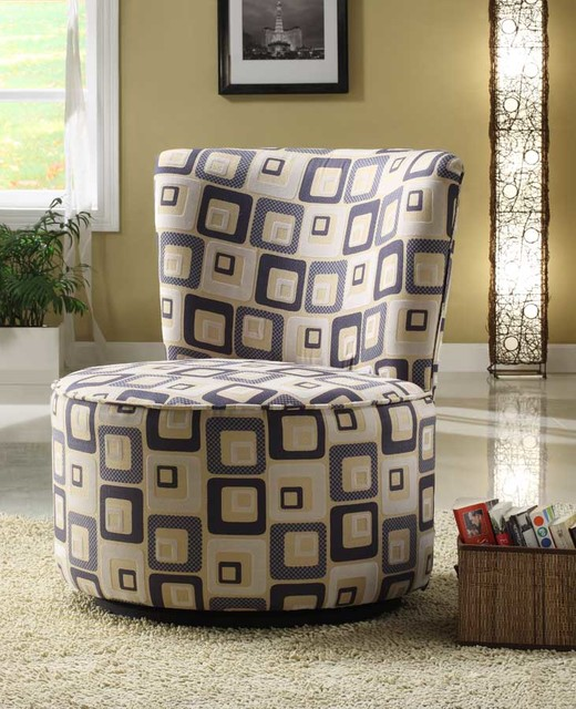 Easton Swivel Lounge Chair in Brick modern-armchairs-and-accent-chairs