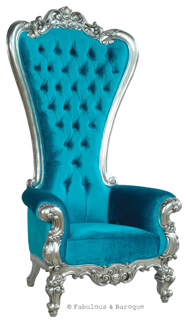 fabulous and baroque 39 s absolom roche chair turquoise