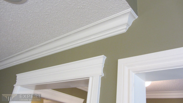 Trim upgrade and crown moulding installation in Ajax - Traditional - toronto - by Expert Crown ...