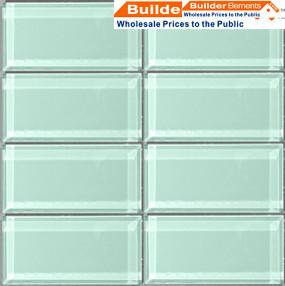 Crystal Glass Tile, Glass Mosaic Tile, Glass Tile PER0034 modern