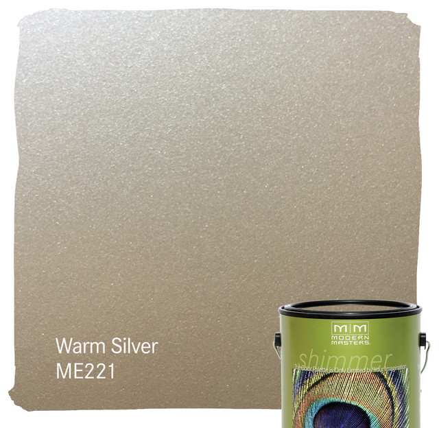 Modern Masters Warm Silver Metallic Paint - ME221 - Paint - los ...