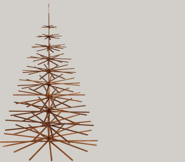 Modern Christmas Trees by possibiliTree