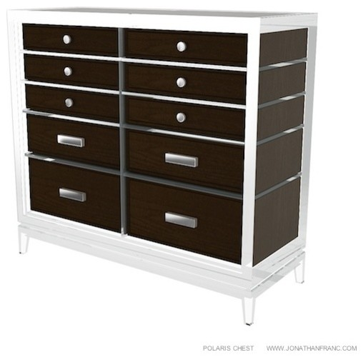 POLARIS CHEST by Jonathan Franc modern-buffets-and-sideboards