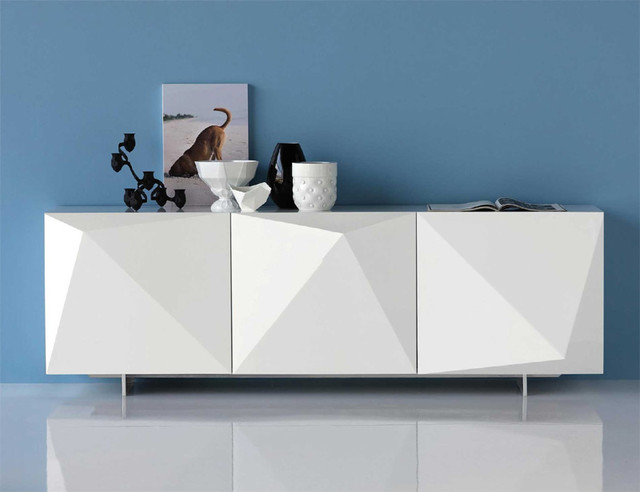 Kayak Lacquered Sideboard By Cattelan Italia modern-buffets-and-sideboards
