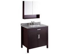 36'' Bosconi SB-252 Vanity Set transitional-bathroom-vanities-and-sink-consoles