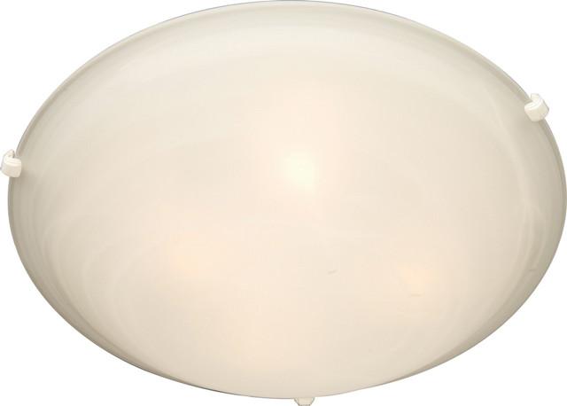 Maxim Lighting 11060MRWT Malaga 4-Light Flush Mount transitional-flush-mount-ceiling-lighting