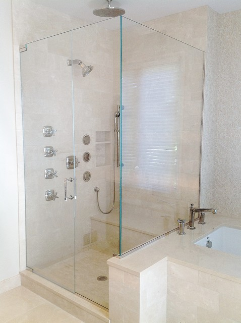 ... Doors - Contemporary - Shower Doors - chicago - by GlassOne Chicago