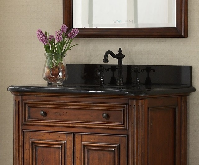 Antique Style Bathroom Vanities - Traditional - los ...