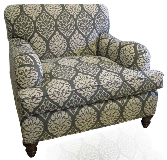 Custom Chair Duralee Fabric Contemporary Upholstery