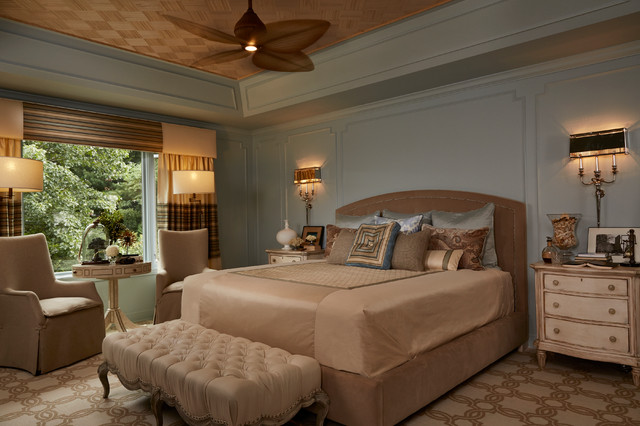 """""""On The Water"""" traditional-bedroom"""