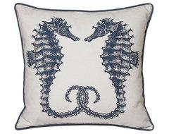Seahorse Decorative Pillow modern-decorative-pillows