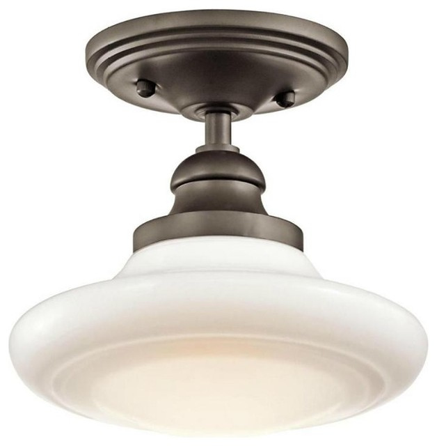Restoration Warehouse Keller Convertible Light - Olde Bronze traditional ceiling lighting