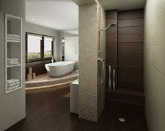 Master Bathroom contemporary-bathroom