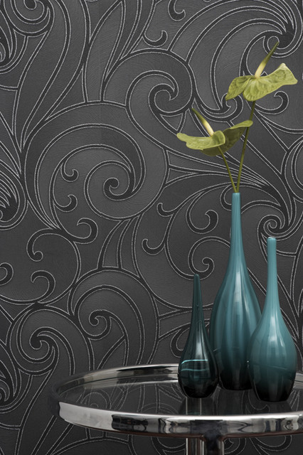 Graham & Brown - Saville Wallpaper modern-wallpaper