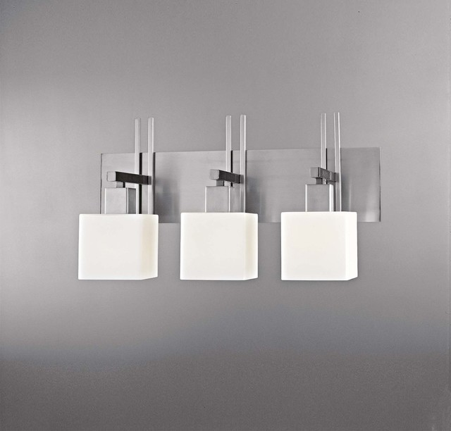 Bathroom Vanity Lights Kovacs : George Kovacs Torii 3 Light Bath - Bathroom Vanity Lighting - atlanta - by Lights Online