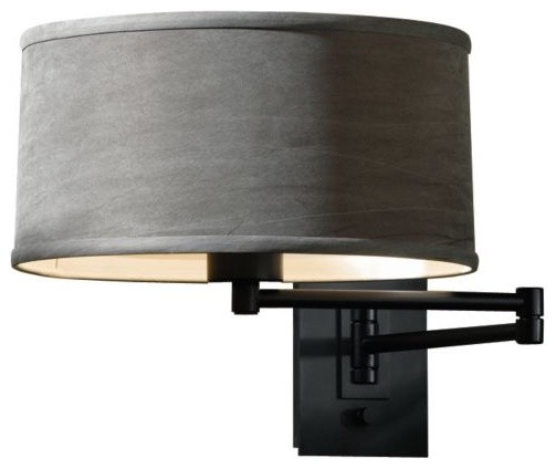 Simple Swing Arm Wall Sconce contemporary wall sconces