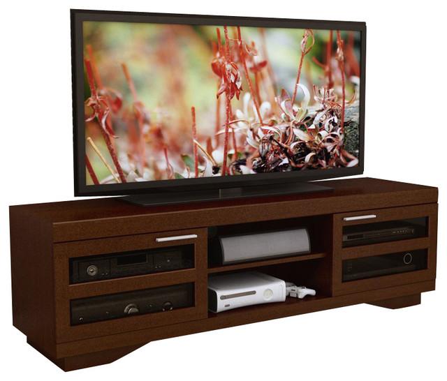 """Sonax Granville 66"""" Warm Cinnamon Wood Veneer TV Stand in ..."""