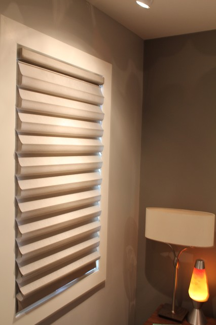 New Solera Soft Roman Shades - Chicago - Contemporary - chicago - by Skyline Window Coverings ...